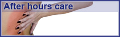 After hours chiropractic and emergency chiropractic is provided by About Backcare, 24 hours a day, 7 days a week.